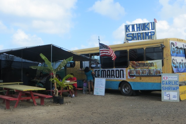Camaron's - just east of Turtle Bay on Hwy 83
